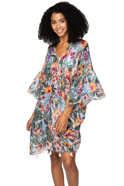 Bay Breeze Bell Kaftan - Subtle Luxury
