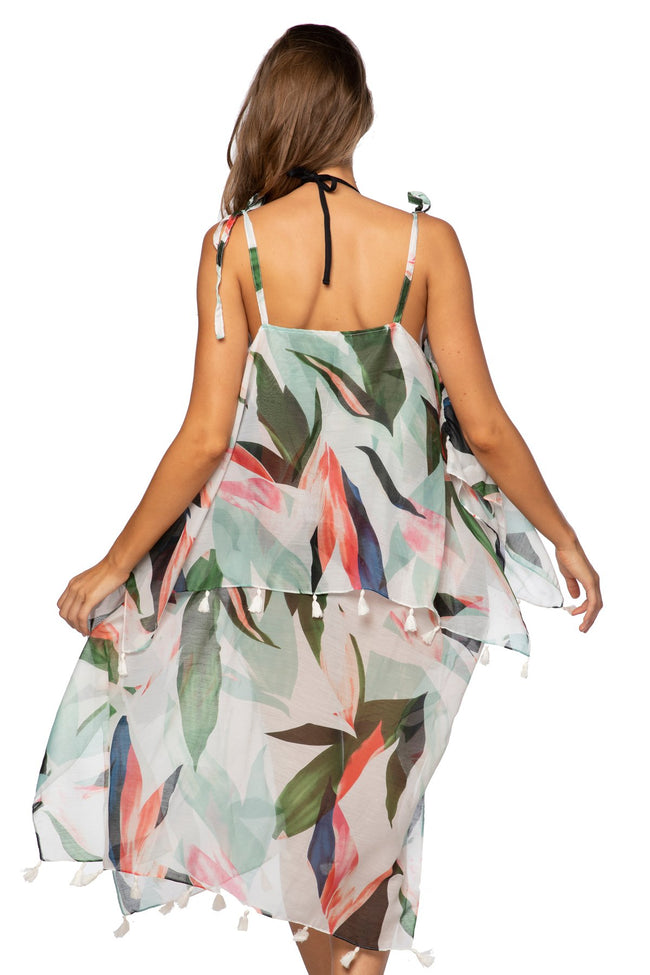 Birds of Paradise Coastal Getaway Dress - Subtle Luxury