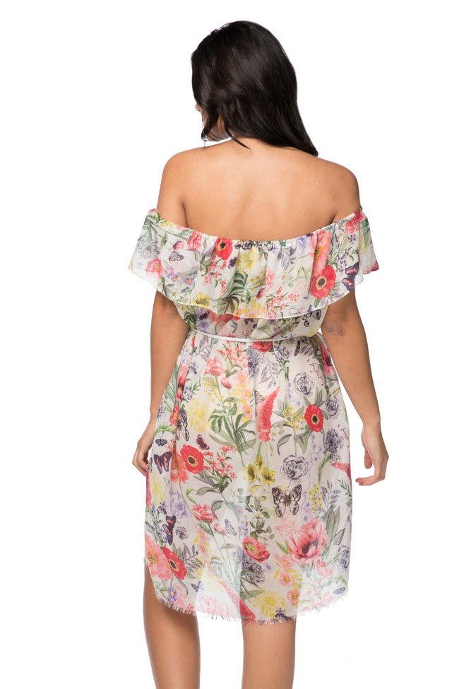 Catalina Ruffle Dress in Maryanne Blossom