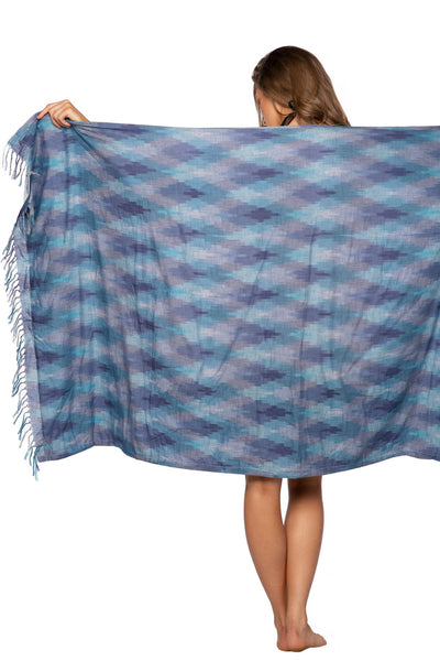 Towel for Two in Fade On Ikat - Subtle Luxury