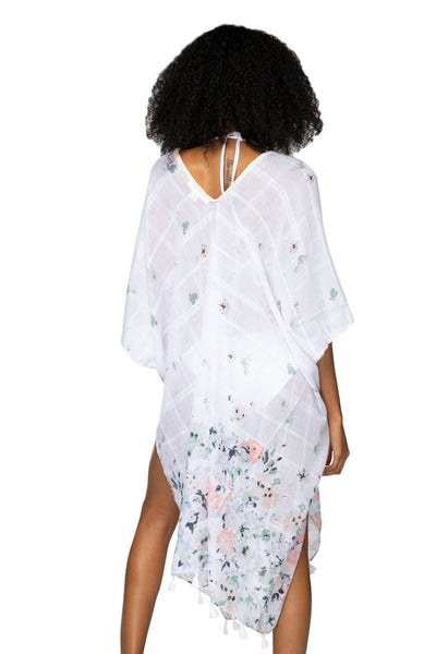 Fairy Dreams Kaftan in White - Subtle Luxury