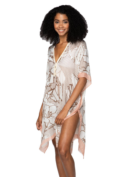Be My Lover Kaftan in Blush - Subtle Luxury