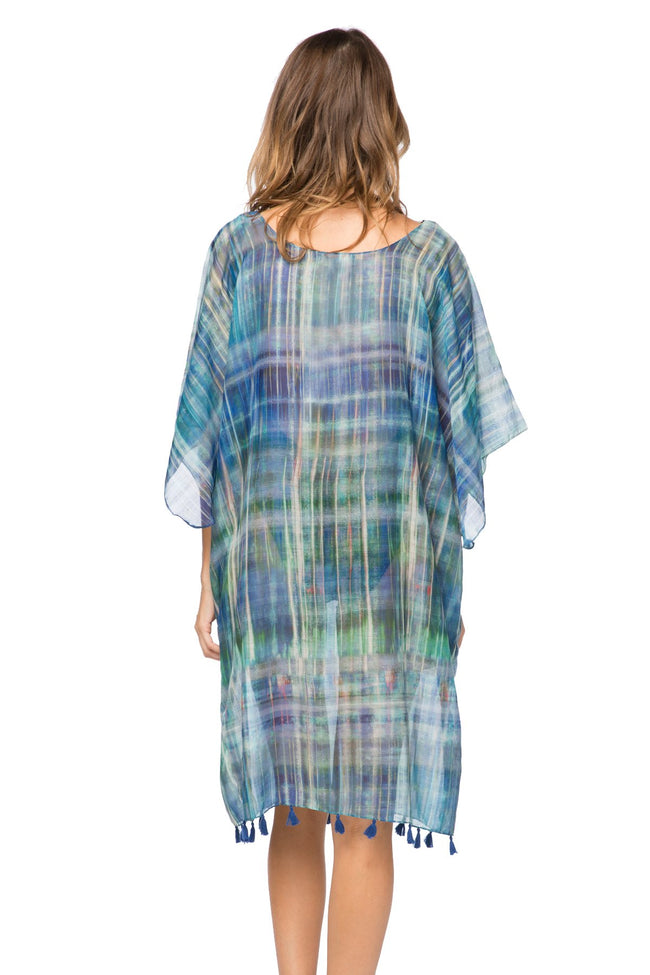 Northern Lights Marina Shift Dress in Blue