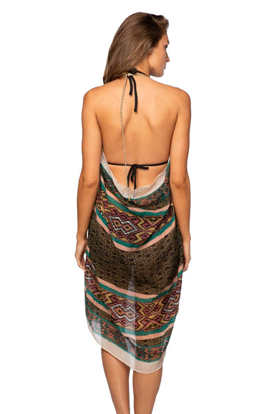 Maxi Tassel Dress in Sunland Park - Subtle Luxury