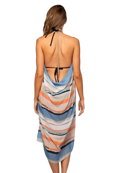 Maxi Tassel Dress in Dripping in Color
