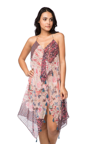 Maxi Tassel Dress in Selena Floral - Subtle Luxury