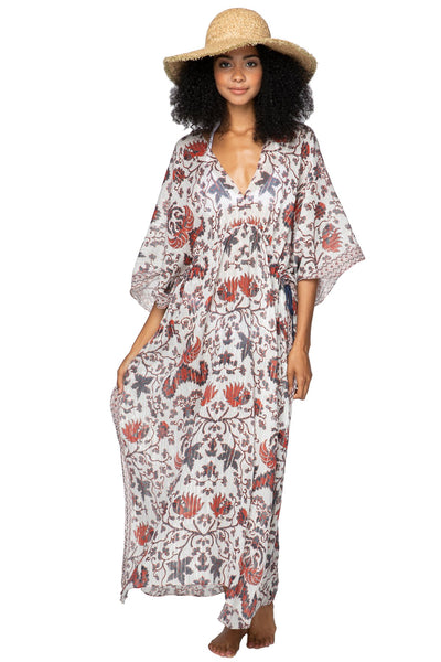 Noble Cockerel Poolside Maxi Dress