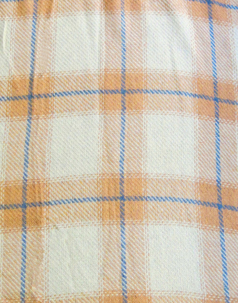 Plaid Ruana - Subtle Luxury