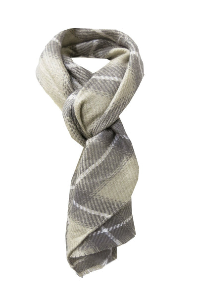 Oh So Plaid Blanket Wrap in Grey - Subtle Luxury