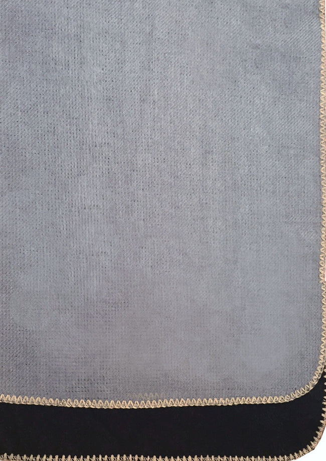 2-Tone Blanket Stitch Wrap - Subtle Luxury