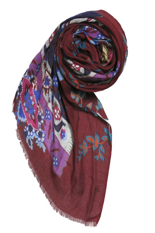 Hey Jude Digital Printed Scarf - Subtle Luxury