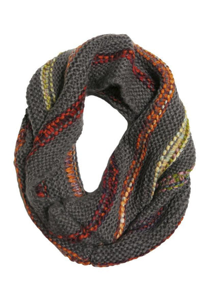 Multi Color Infinity Scarf in Multi by Spun - Subtle Luxury
