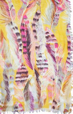 Free Spirit Print Scarf in Sunshine