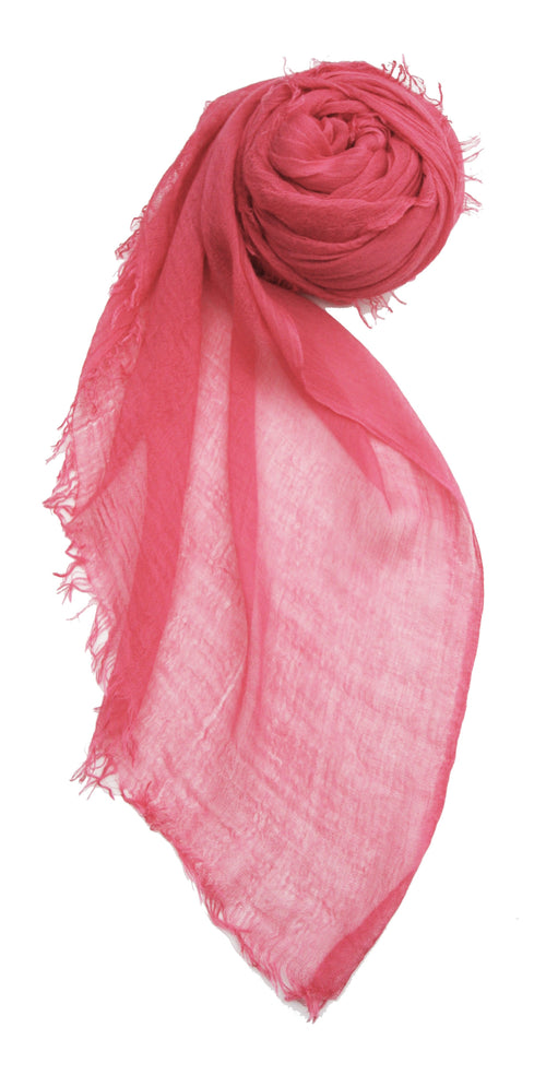 Luxe Model Sheer Scarf Wrap -Assorted Sunset Colors - Subtle Luxury