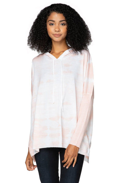 Zen Blend Reese Hoodie Pullover in Tie Dye - Subtle Luxury