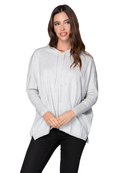 "Zen ""Reese"" Hoodie Pullover in Surf - Subtle Luxury"