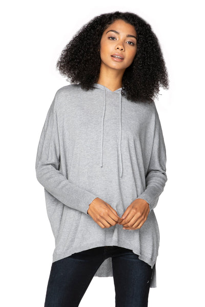 "Zen ""Reese"" Hoodie Pullover in Smoke - Subtle Luxury"