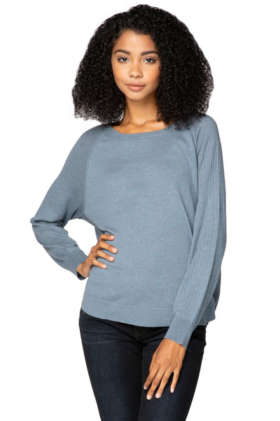 Zen Olivia Pullover in Olympic - Subtle Luxury