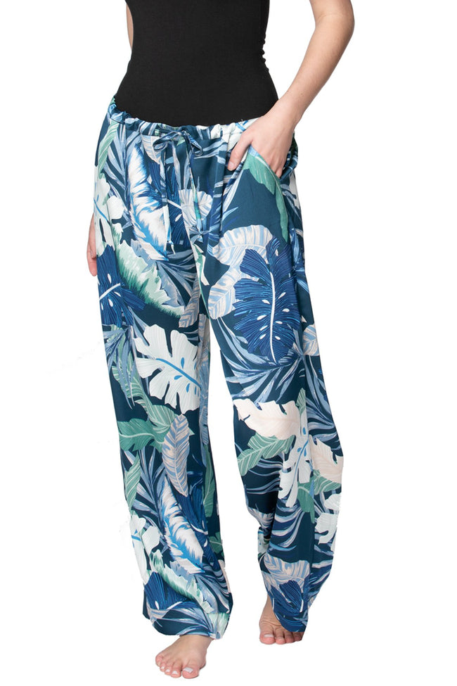 Bailey Beach Pant in Aloha Paradise - Subtle Luxury