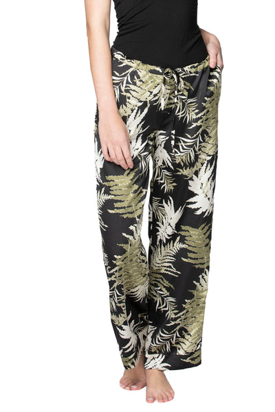 Bailey Beach Pant in Bold Ferns - Subtle Luxury