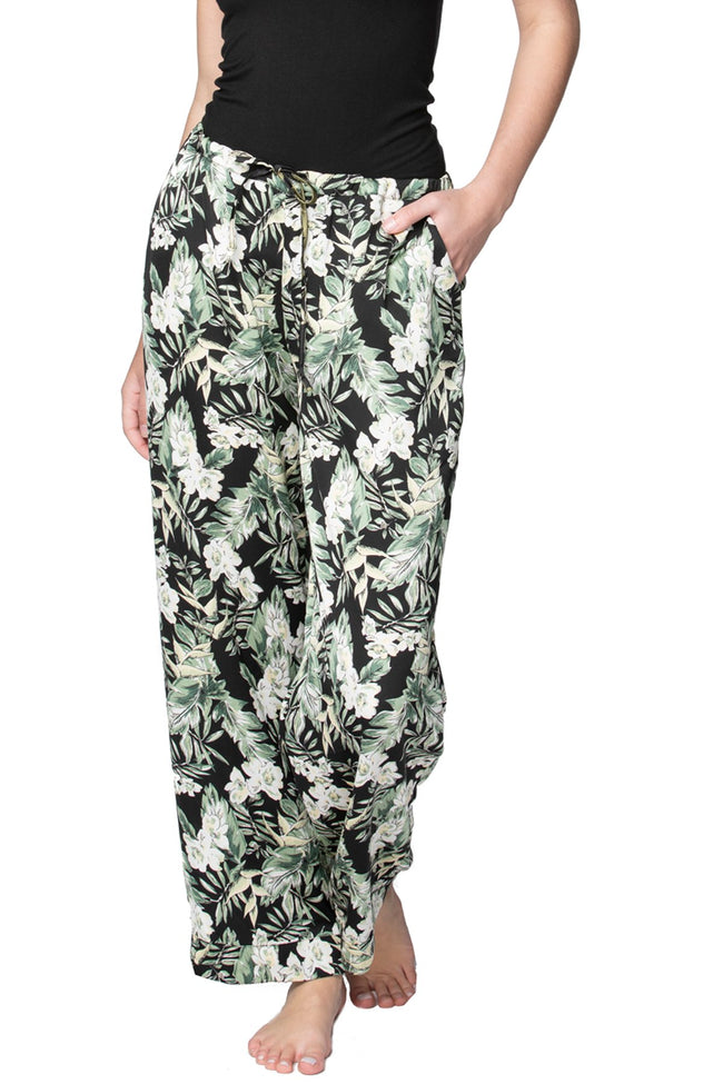 Bailey Beach Pant in Blooming Paradise - Subtle Luxury