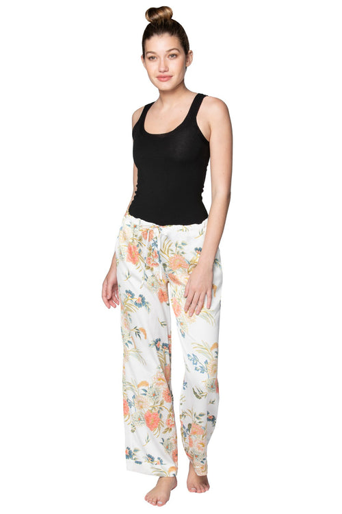 Bailey Beach Pant in Soft Bouquet