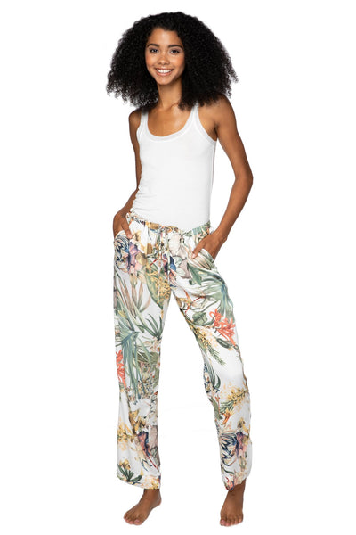 Bailey Beach Pant in Tropical Escape - Subtle Luxury