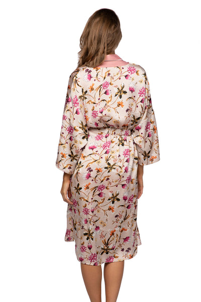 Bed to Brunch Kimono in Mystic Floral - Subtle Luxury