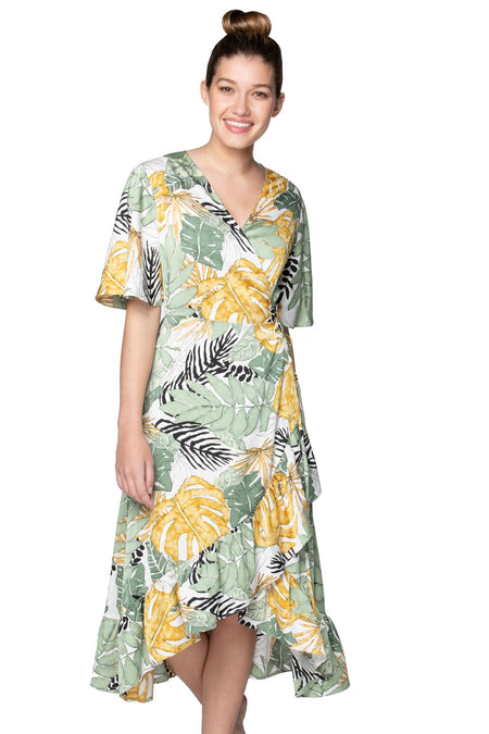 Summer Sun Dress in Ikat