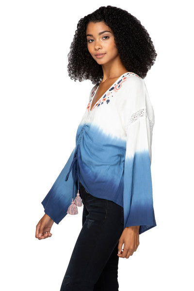 Isabella Blouse in Ombre - Subtle Luxury