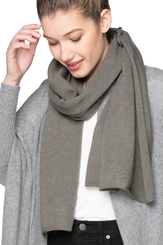 100% Cashmere Harlow Wrap in Trails