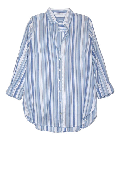 Lily Button Down Shirt in Tie Dye or Stripe