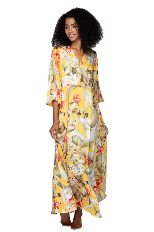 Golden Hour Maxi Kimono Dress