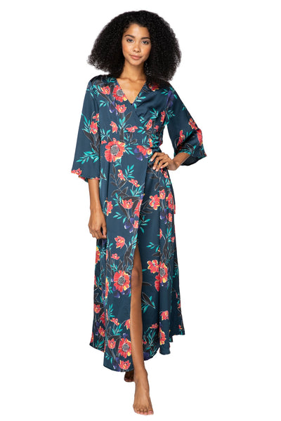Summer Bloom Maxi Kimono Dress - Subtle Luxury
