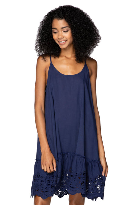 Fringe Tassel Dress - Midnight