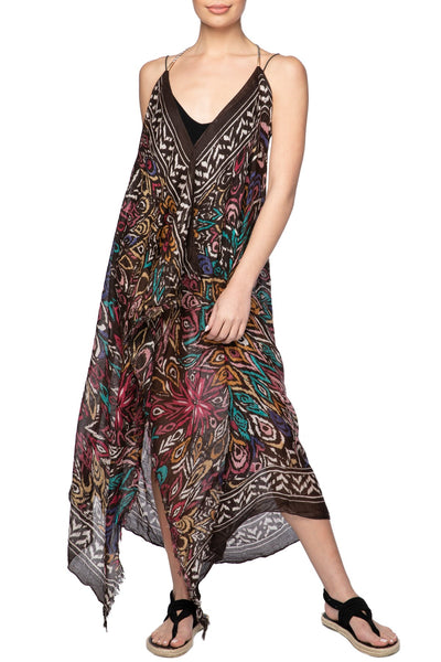 Maxi Tassel Dress in Boho Beauty