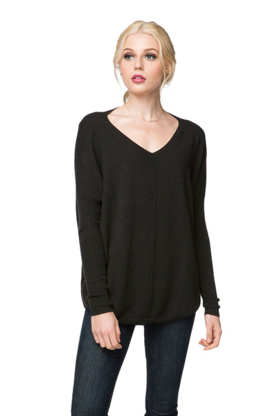 Nelly Washable Cashmere V-neck Pullover