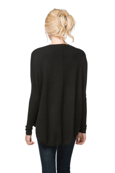 Nelly Washable Cashmere V-neck Pullover - Subtle Luxury