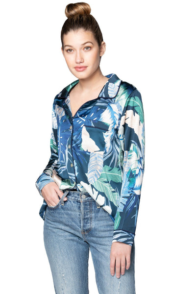 Bed to Brunch Piper Shirt in Aloha Paradise - Subtle Luxury