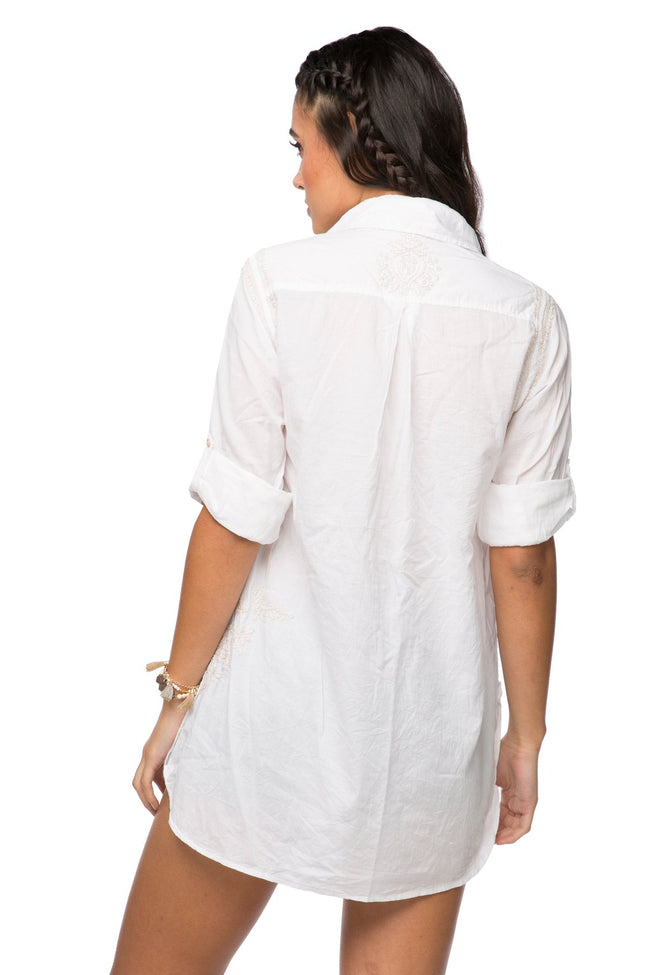 Boyfriend Shirt in Dune - Subtle Luxury