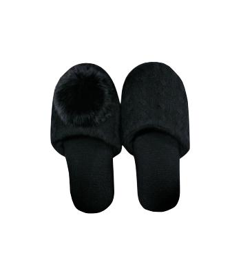 Shiloh Pom Pom Slipper - Subtle Luxury