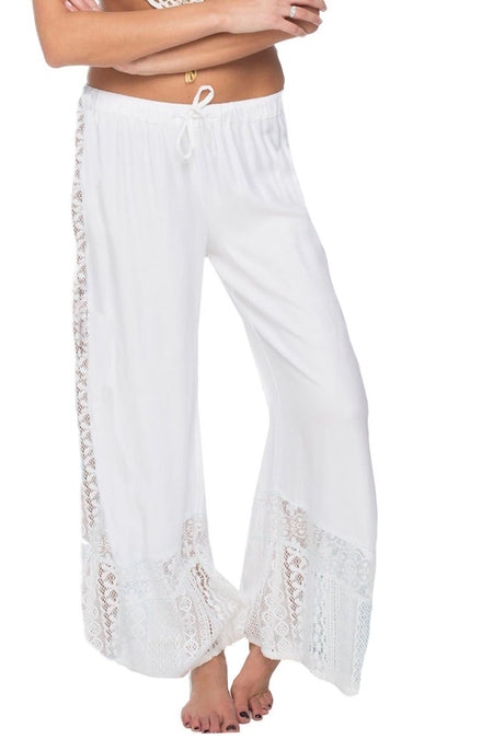 Bailey Beach Pant in Blooming Paradise