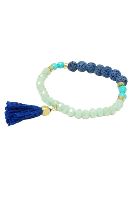 Multi-Color Tassel Bracelet