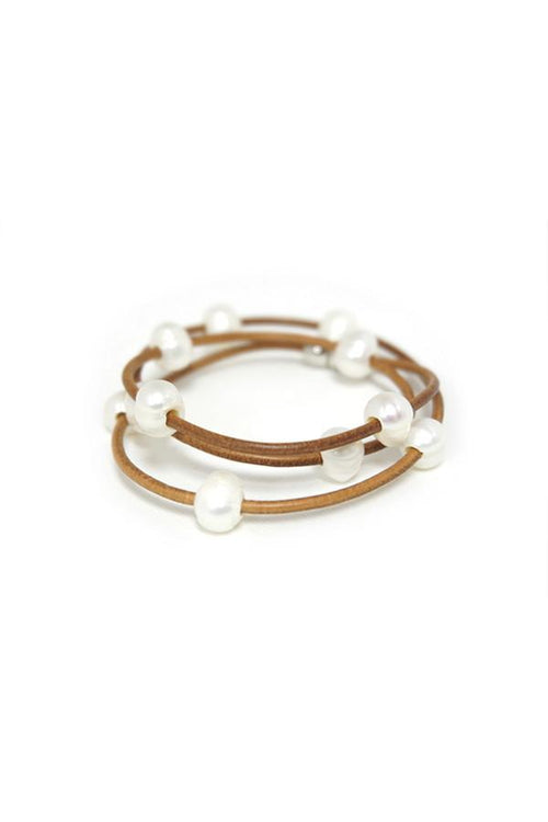Wrap Pearl Bracelet - Subtle Luxury