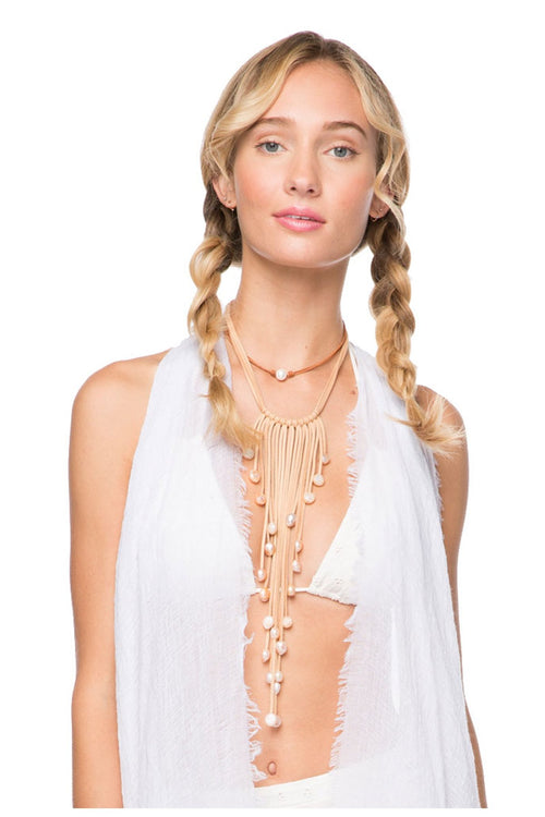 Waterfall Tassel Necklace
