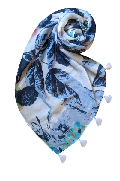 Gossamer Wings Scarf in Multi - Subtle Luxury