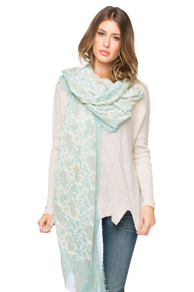 Ivy Relic Scarf in Mint - Subtle Luxury