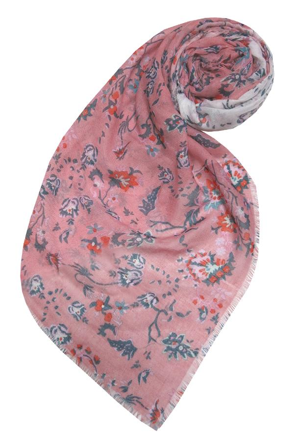 Girly Girl Scarf in Pink - Subtle Luxury