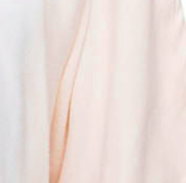Castaway Open Neck Twill Top in Ombre Dip Dye