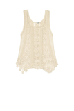 Lace Cluny Tank - Subtle Luxury